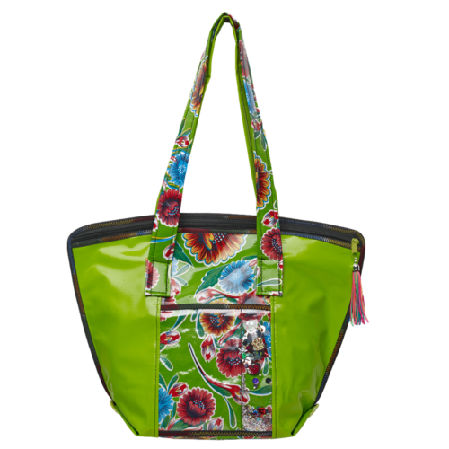 Small Tote Bags, Cereza Mexican Oilcloth Studio